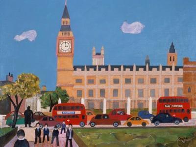 Big Ben and Parliament Square by William Cooper