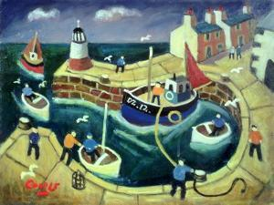 Safe Harbour, Brittany by William Cooper