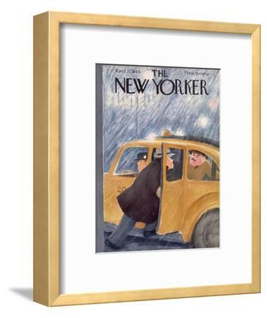 The New Yorker Cover - April 21, 1945