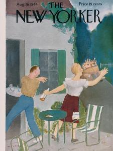 The New Yorker Cover - August 26, 1944 by William Cotton