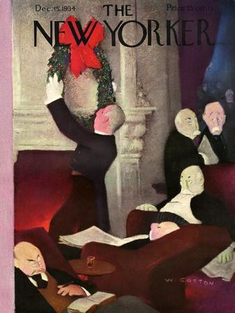 The New Yorker Cover - December 15, 1934