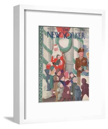 The New Yorker Cover - December 2, 1944