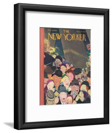 The New Yorker Cover - December 28, 1935