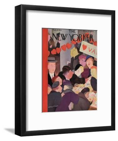 The New Yorker Cover - February 9, 1935