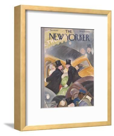 The New Yorker Cover - January 16, 1937