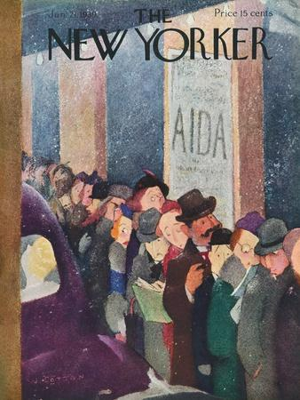 The New Yorker Cover - January 21, 1939