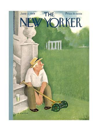 The New Yorker Cover - June 3, 1944