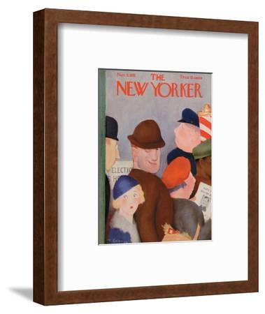 The New Yorker Cover - November 5, 1932