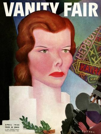 Vanity Fair Cover - April 1934