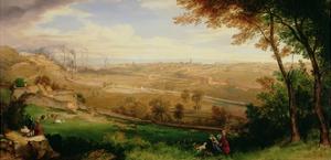 View of Bradford, 1849 by William Cowen