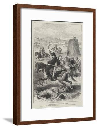 A Turkoman Raid, Carrying Off a Prize