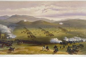 Charge of the Light Cavalry Brigade, October 25th 1854, Detail of Artillery, from 'The Seat of… by William 'Crimea' Simpson