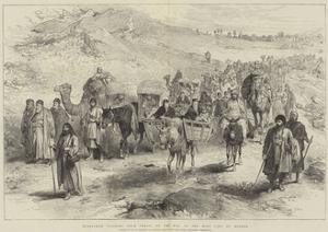 Mussulman Pilgrims from Persia on the Way to the Holy City of Meshed by William 'Crimea' Simpson