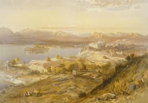 Oodypure, from 'India Ancient and Modern', 1867 (Colour Litho) by William 'Crimea' Simpson