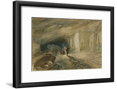 The Quarry Caverns, Jerusalem, 1869