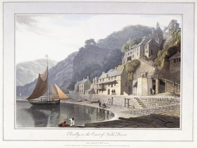 Clovelly, on the Coast of North Devon, 1814 by William Daniell