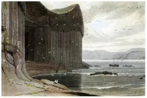 Fingal's Cave, Staffa, Outer Hebrides, Scotland. 1814 by William Daniell