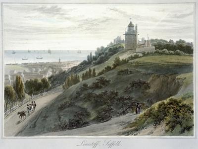 'Lowestoft, Suffolk', 1814-1825 by William Daniell