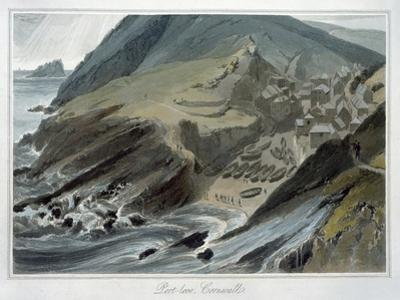 'Port Looe, Cornwall', 1814-1825 by William Daniell