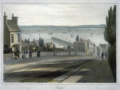 'Ryde', Isle of Wight, 1814-1825 by William Daniell