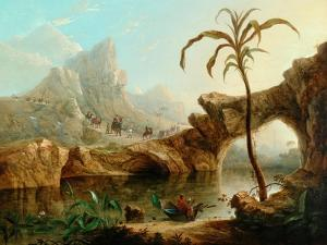 Scene In The Himalayas by William Daniell