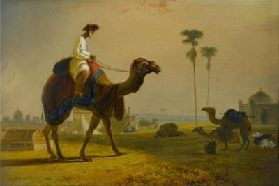 The Hirkarrah Camel (A Scene in the East Indies), 1832 by William Daniell