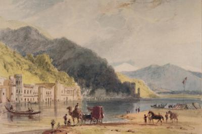 'The Hurduwar - where the Ganges enters the Plains of Hindoostan', c1786-1791, (1935) by William Daniell