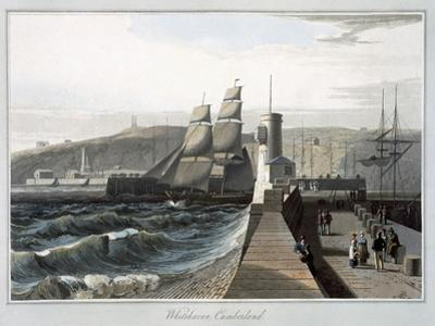 'Whitehaven, Cumberland', 1814-1825 by William Daniell