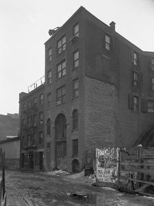 63 Downing Street, New York City, February 18, 1916 by William Davis Hassler