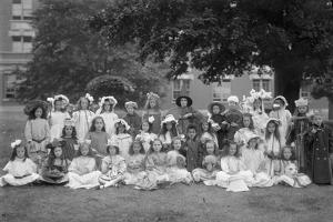 Group Portrait of Children from the Roman Catholic Orphan Asylum by William Davis Hassler