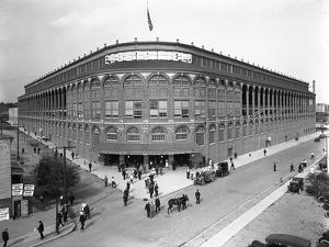 High-Angle View of Ebbets Field, Brooklyn, September 2, 1914 by William Davis Hassler