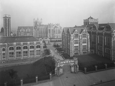High Angle View of the Campus of the City College of New York, New York City, July 16, 1914