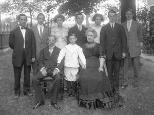 Mcgovern Family, Creston Avenue, Bronx, C.1911 by William Davis Hassler