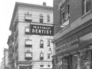 Sign for Dr. H.Y. Halley, 1456 St. Nicholas Avenue, New York City, August 2, 1916 by William Davis Hassler