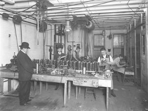 Sixth Floor Workshop, Geyser Electric Water Heater Company, 42 Hudson Street, New York City by William Davis Hassler