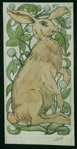 Hare (W/C on Paper) by William De Morgan