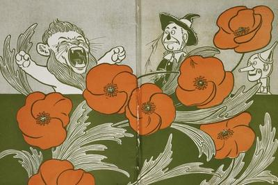 The Cowardly Lion, Scarecrow and Tin Woodman in the Deadly Field Of Poppies