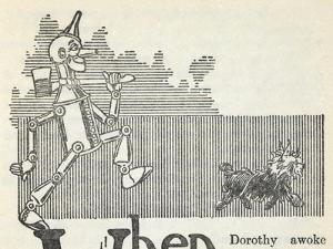 The Tin Woodman, and Toto the Dog by William Denslow