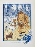 Alphabet Page: C and D. the Cow That Jumped Over the Moon. the Dog That Laughed-William Denslow-Giclee Print
