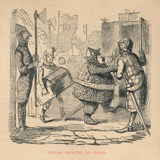 'William departing for France', c1860, (c1860)-John Leech-Giclee Print