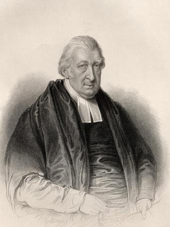 Reverend Rowland Hill, Engraved by S. Freeman, from 'The National Portrait Gallery, Volume Iv',…