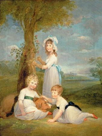 The Earl of Lincoln, Lady Anna Maria and Lady Charlotte Pelham Clinton