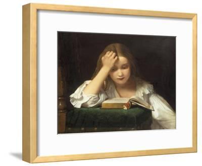 A Quiet Read, 1863