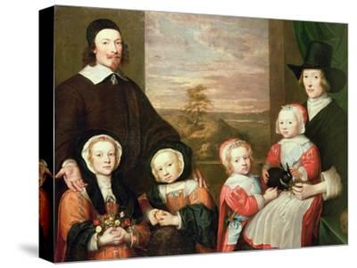 Unidentified Family Portrait, Traditionally Thought to Be That of Sir Thomas Browne, Mid 1640s