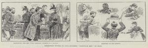 Christmas Dinner to Five Hundred Sandwich Men in Soho by William Douglas Almond