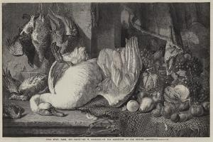 Dead Swan, Game, and Fruit by William Duffield