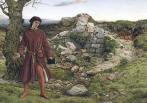 Henry VI at Towton, 1860 by William Dyce