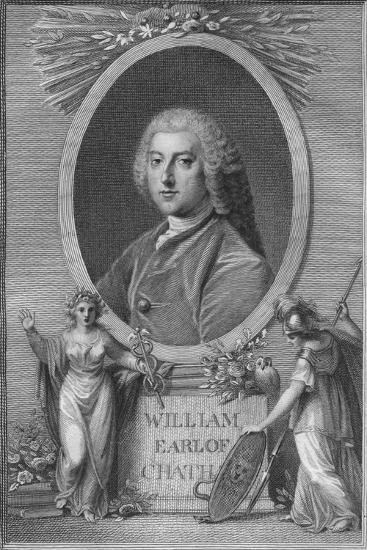 'William, Earl of Chatham', 1790-Unknown-Giclee Print
