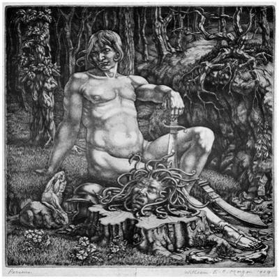 Perseus, 1929 by William EC Morgan