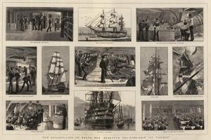 Our Sailors, Life on Board Her Majesty's Training-Ship St Vincent by William Edward Atkins